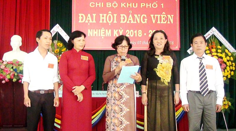 Chi ủy nhiệm kỳ 2018 - 2020 ra mắt và hạ quyết tâm trước Đại hội.