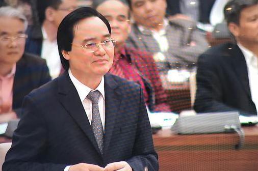 Bộ trưởng Bộ GD&ĐT Phùng Xuân Nhạ. Ảnh: VA