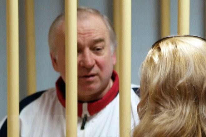 Cựu đại tá tình báo quân đội Nga Sergei Skripal tại phiên xét xử ở Tòa án quân đội Moskva ngày 9-8-2006. (Nguồn: AFP/TTXVN)