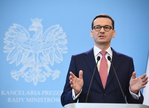 Thủ tướng Ba Lan Mateusz Morawiecki. (Nguồn: PAP)