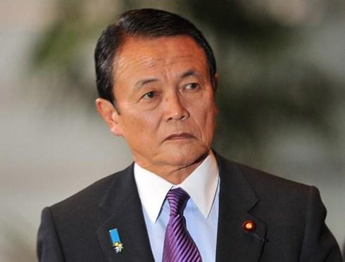 Bộ trưởng Tài chính Aso Taro cam kết sẽ báo cáo kết quả điều tra liên quan đến vụ việc tại Quốc hội. Ảnh: Livemint.