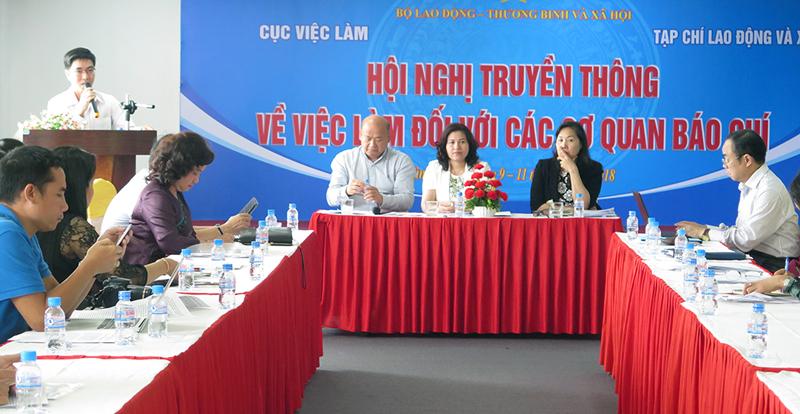 Hội nghị thu hút hơn 100 phóng viên đến từ 87 cơ quan báo chí phía Nam. Ảnh: T. Thảo