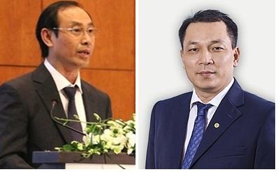 Thứ trưởng Bộ Giao thông vận tải Lê Đình Thọ và Thứ trưởng Bộ Công Thương Đặng Hoàng An.