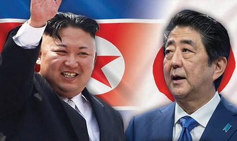 Nhật Bản và Triều Tiên đang xúc tiến các cuộc trao đổi để hướng tới Hội nghị thượng đỉnh giữa Thủ tướng Shinzo Abe và Nhà lãnh đạo Kim Jong-un. Ảnh: Vietnamnet