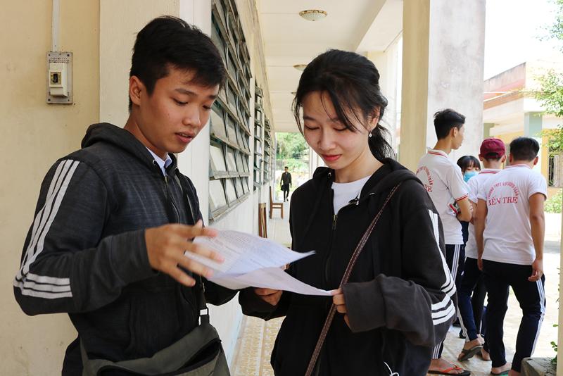 Thí sinh có thể điều chỉnh nguyện vọng xét tuyển trên Cổng thông tin tuyển sinh của Bộ Giáo dục và Đào tạo. Ảnh: Phan Hân