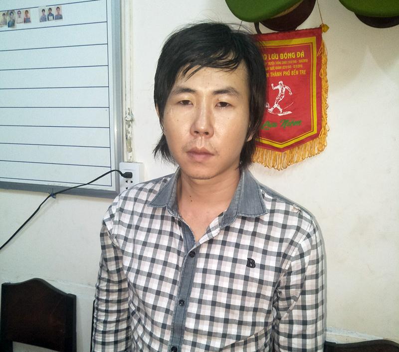 Đối tượng Trần Quốc Huy. Ảnh: Quang Duy