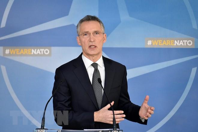 Tổng Thư ký NATO Jens Stoltenberg. (Nguồn: AFP/TTXVN)