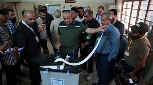 Sáng 9-8, Iraq công bố kết quả cuối cùng cuộc bầu cử Quốc hội ngày 12-5, không thay đổi nhiều so với kết quả công bố trước đó. Ảnh: Press TV