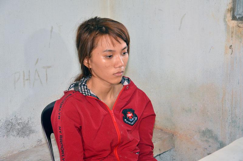 Đối tượng Lê Thị Tuyết Nga. Ảnh: Quang Duy