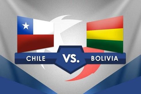 Cờ Chile và Bolivia. Ảnh: World Soccer Talk