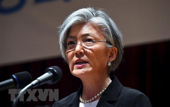 Ngoại trưởng Hàn Quốc Kang Kyung-Wha. Ảnh: AFP/TTXVN