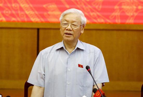 Ban Chấp hành Trung ương Đảng thống nhất giới thiệu Tổng Bí thư Nguyễn Phú Trọng để Quốc hội bầu làm Chủ tịch nước.