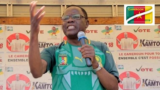 Ứng cử viên phe đối lập Maurice Kamto. Nguồn: africanews.com