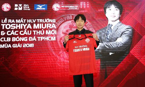 HLV Miura từng nhận được nhiều kỳ vọng khi trở lại Việt Nam dẫn dắt CLB TP. Hồ Chí Minh mùa giải 2018.