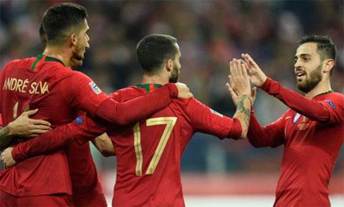 Bồ Đào Nha thể hiện đẳng cấp qua hai trận thắng Italy và Ba Lan.