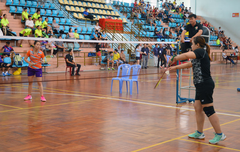 Vận động viên tham gia thi đấu tại Giải. Ảnh: A. Nguyệt