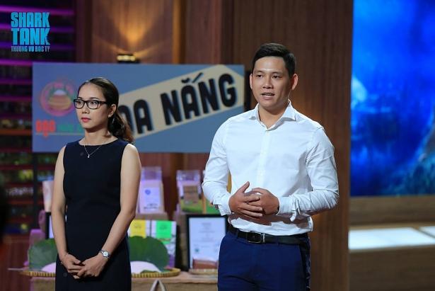 Lâm Anh Tú, Đặng Thị Trường An tham gia gọi vốn trong Chương trình Thương vụ bạc tỷ mùa 2 tối 11-7. Ảnh: Cắt từ Chương trình phát sóng.
