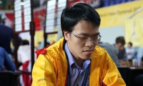 Quang Liêm không thực sự thành công ở giải cờ mở mạnh bậc nhất hành tinh. Ảnh: PT