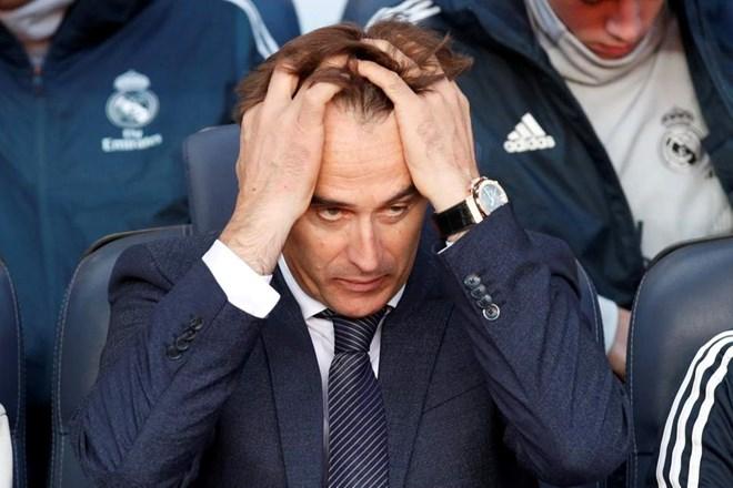 Julen Lopetegui bị sa thải chỉ ít tháng sau khi dẫn dắt Real Madrid. Nguồn: Reuters