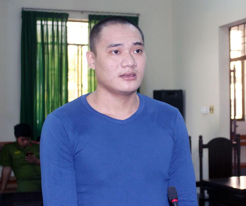 Bị cáo Nguyễn Văn Mỹ tại phiên tòa hình sự sơ thẩm ngày 1-11-2018. Ảnh: H. Đức