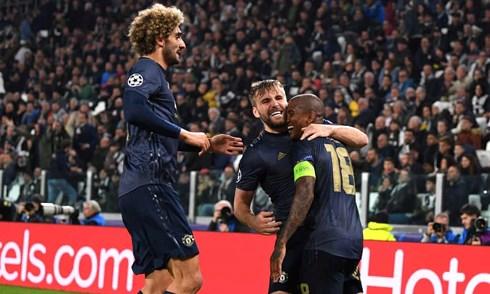 MU lội ngược dòng giành chiến thắng 2-1 trước Juventus chỉ trong vòng 5 phút cuối trận. Ảnh: Getty