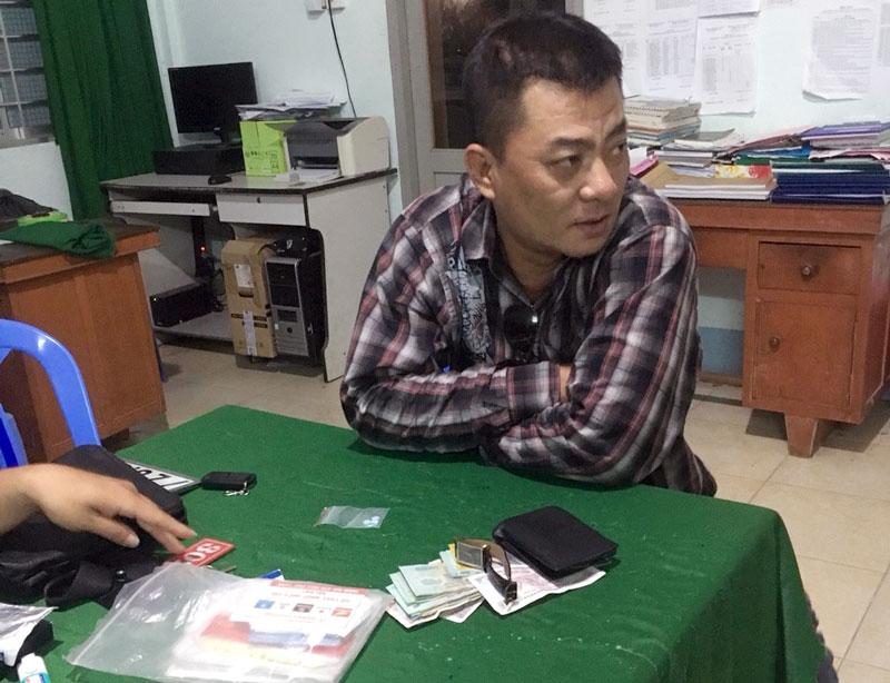 Đối tượng Nguyễn Trọng Trí.