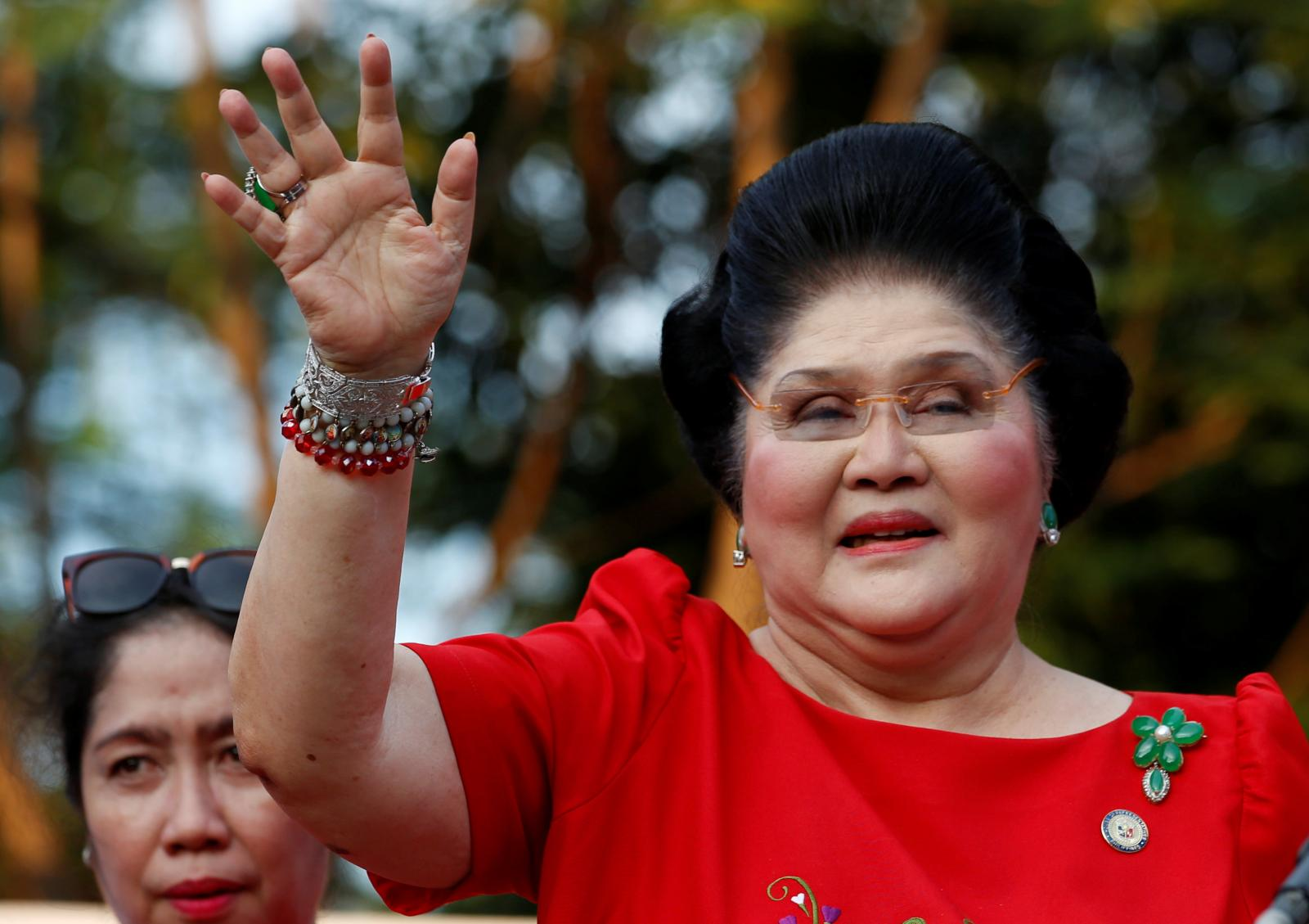 Cựu Đệ nhất phu nhân Imelda Marcos. Ảnh: reuters.com
