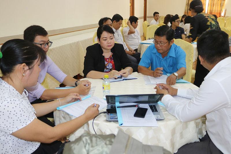 Đại biểu tham dự hội thảo. Ảnh: Phan Hân