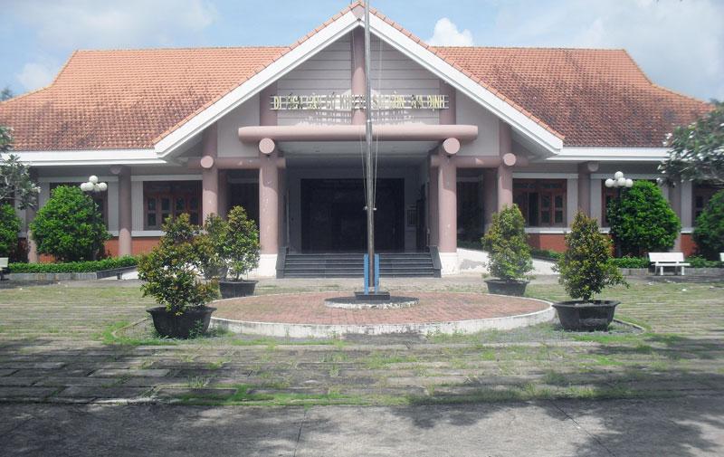 Căn cứ khu ủy Sài Gòn - Gia Định (Y4), ddiểm tham quan du lịch. Ảnh: Nguyễn Sơn