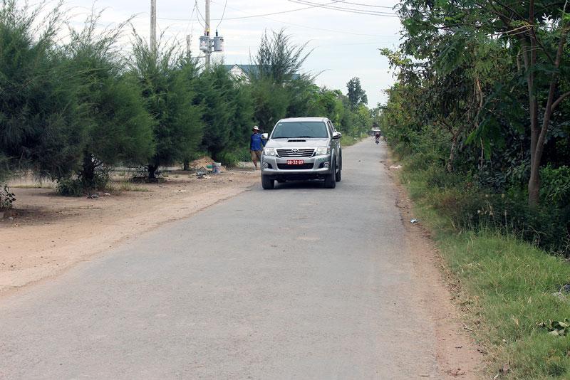 Tuyến đường sang - xanh - sạch - đẹp do Hội CCB xã An Thủy vận động xây dựng. Ảnh: H. Đức