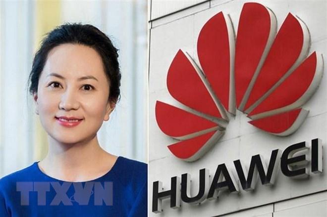 Phó chủ tịch kiêm Giám đốc Tài chính Tập đoàn viễn thông Huawei của Trung Quốc Mạnh Vãn Chu. Ảnh: Reuters/TTXVN