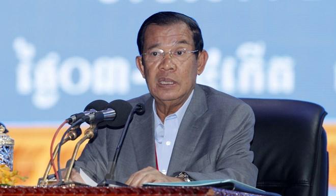 Thủ tướng Campuchia Samdech Hun Sen. Nguồn: THX/TTXVN