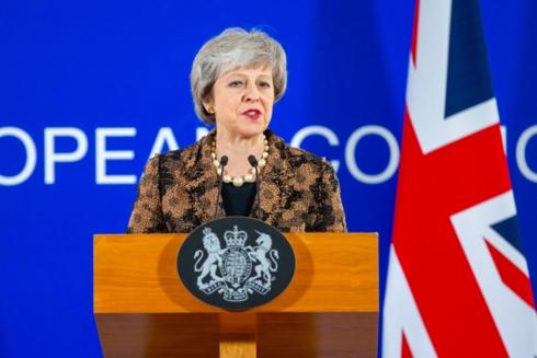 Thủ tướng Anh Theresa May. Ảnh: Getty