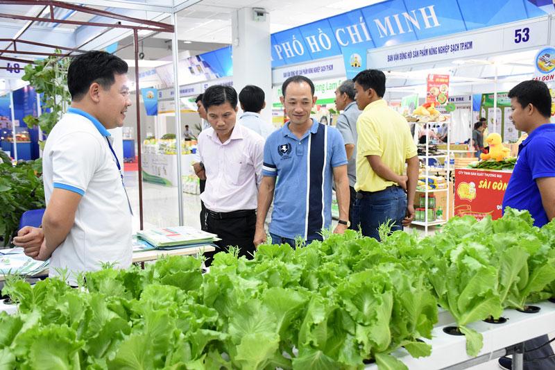 Thúc đẩy kinh doanh nông sản an toàn trên địa bàn tỉnh.