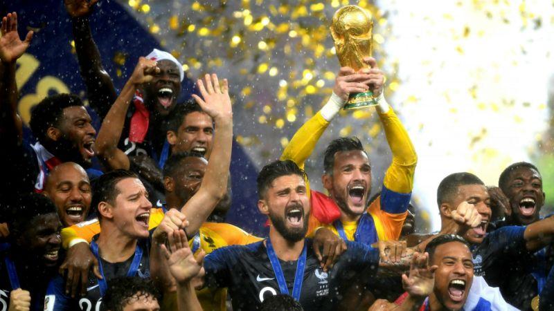 Tuyển Pháp lần thứ 2 vô địch thế giới. Ảnh: yahoosports
