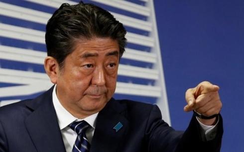 Thủ tướng Nhật Abe. Ảnh: Financial  Express.