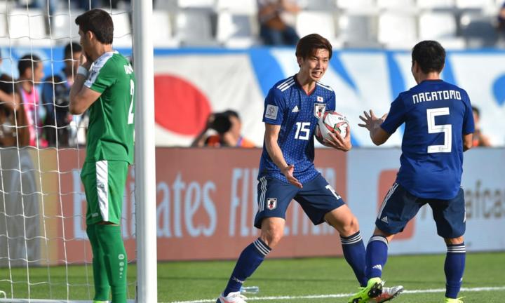 Osako lập cú đúp giúp Nhật Bản nhanh chóng đảo ngược thế trận. Ảnh: AFC