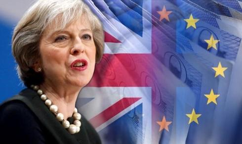 Thủ tướng Theresa May. Ảnh: Daily Express