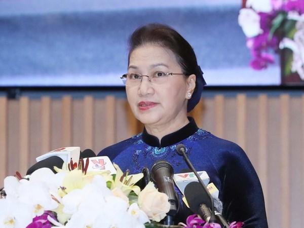 Chủ tịch Quốc hội Nguyễn Thị Kim Ngân. Ảnh: Trọng Đức/TTXVN