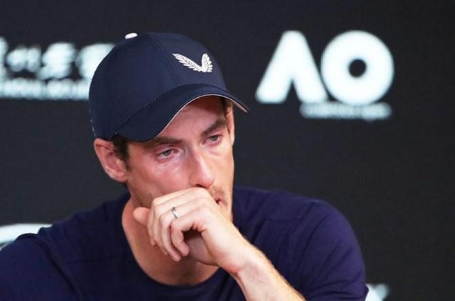 Andy Murray tuyên bố ý định giải nghệ trong nước mắt. Nguồn: Rediff