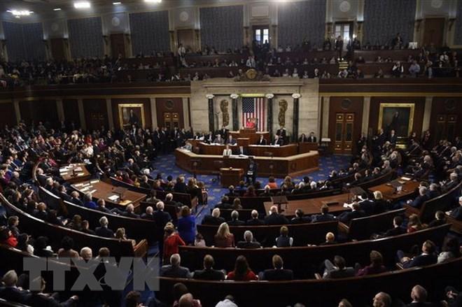 Toàn cảnh một phiên họp Quốc hội Mỹ. Ảnh: AFP/TTXVN