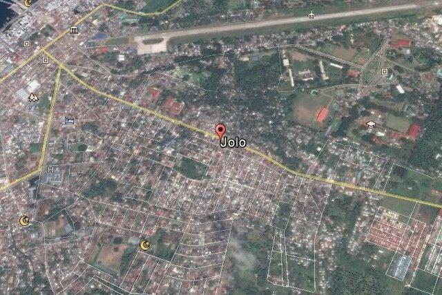 Bản đồ khu vực xảy ra nổ bom. Nguồn: philstar.com
