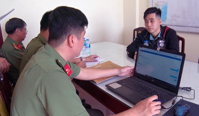 Cơ quan chức năng đang làm việc với Trần Ngọc Phúc.