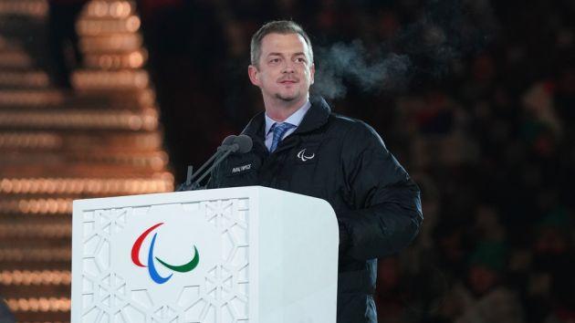 Chủ tịch Ủy ban Paralympic quốc tế (IPC) Andrew Parson. Ảnh: sportspromedia