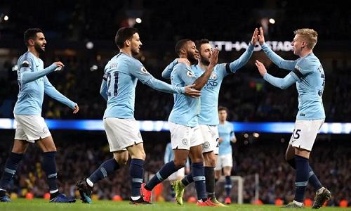 Man City khẳng định sức mạnh với chiến thắng tưng bừng trước Chelsea. Ảnh: PA