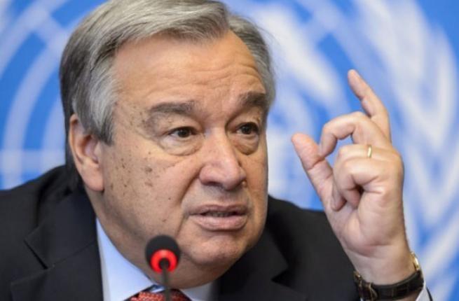 Tổng Thư ký Liên hợp quốc Antonio Guterres. Nguồn: AFP