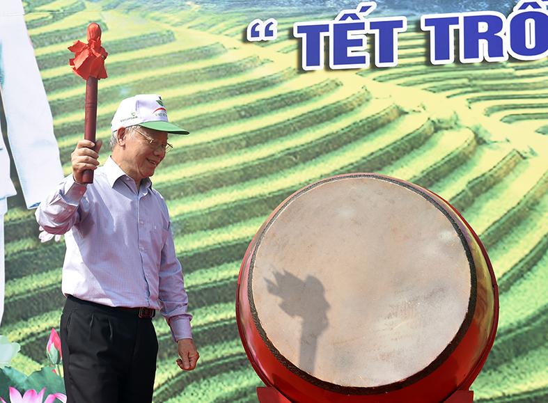 Tổng Bí thư, Chủ tịch nước Nguyễn Phú Trọng phát biểu tại buổi lễ. Ảnh: VGP/Nhật Bắc