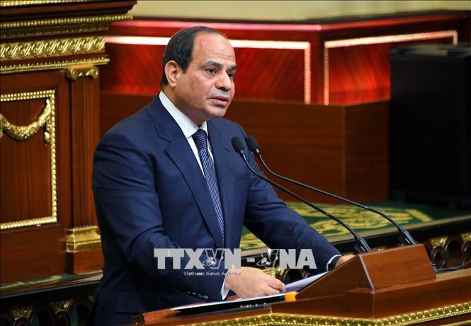 Tổng thống Ai Cập Abdel Fattah el-Sisi. Ảnh: TTXVN phát