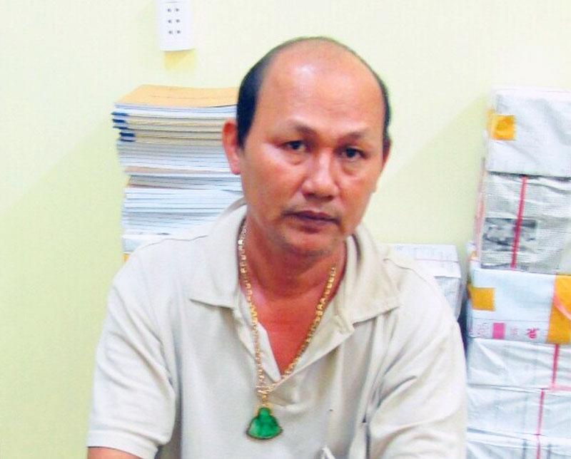 Đối tượng Nguyễn Văn Công Em. Ảnh: Tú Minh