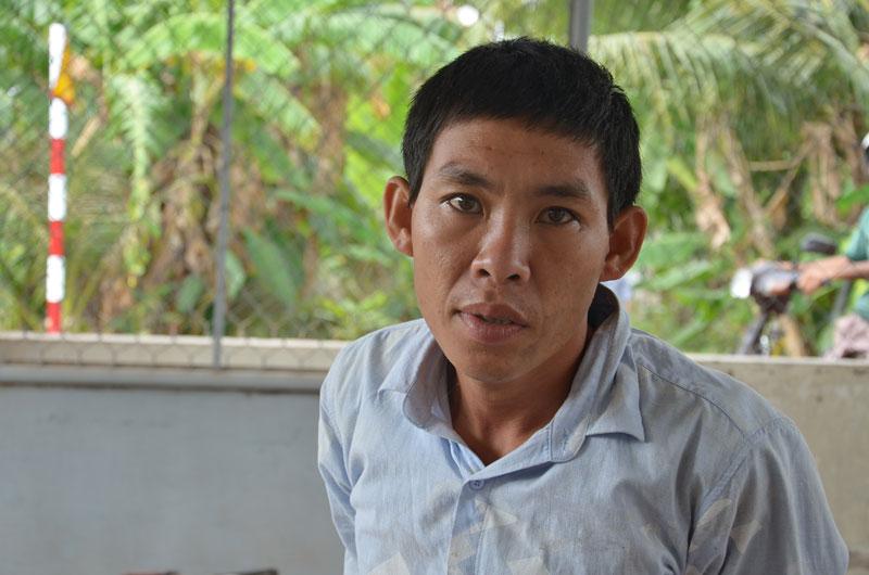 Đối tượng Nguyễn Minh Đằng.